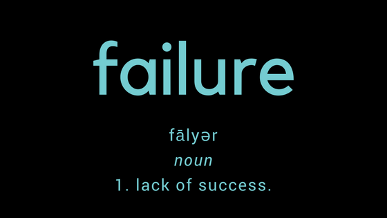 fail·urenoun1.lack of success.